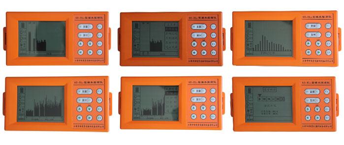 ST-TL2型漏水探测仪,是结合多 年研制、生产漏水探测仪器经验的基础上,开发的具有国内外领先技术的漏水探测仪器,在结构和性能方面有如下特点: 1、 该仪器全部采用微电脑数字控制技术、超大屏幕高密度点阵液晶,菜单操作明显直观。 2、 多界面、多功能显示漏水频率信号明显直观,有效地帮助工作人员精确判断漏水位置。是初学者的理想助手。 3、 多级选频滤波,清晰度高,信噪比强。频率覆盖为50-3200HZ。 4、 大容量录音存储系统,对漏水频率信号实时录音储存,可与电脑连机便于工作人员学习分析。 5、 该仪器采用